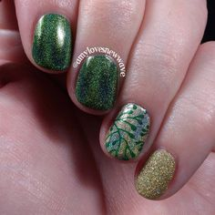 Amy Loves New Wave: Green and gold