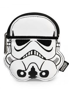 """""""Storm Trooper"""" Faux Leather Coin Bag by Loungefly (White) #InkedShop #coinpurse #changepurse #Stormtrooper"""