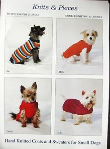 CROCHET KNIT PATTERN FOR DOG SWEATER | Original Patterns