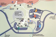 Grand Canyon Visitor Center Parking Map, video of what to do with 4 hours or less
