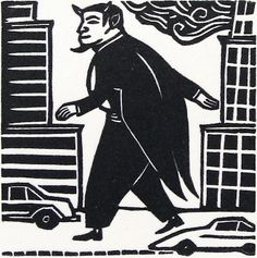 Medium: Linocut Year: 2003 Edition : Edition of 50 Size: 2 x 2 inches
