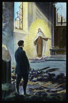 Apparition de Sr Thérèse à un soldat de religion orthodoxe (1917).