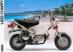 yamaha chappy mopeds pinterest scooters mopeds and wheels rh pinterest com yamaha chappy lb50 service manual pdf yamaha chappy lb 50 service manual