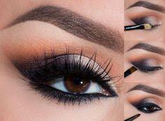 Maquillaje elegante para conseguir unos ojos seductotes ~ Belleza y Peinados