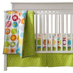 Sumersault Geo Brites 10pc Crib Set - If I could find this somewhere, I'd be in love!