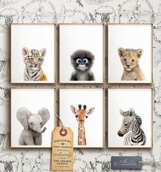 Safari Kinderzimmer Dekor DRUCKBARE Kunst Safari Tierdrucke Kinderzimmer Wandkunst Dschungeltiere Elefanten Kunst Babyzimmer The Crown Prints Shop Baby Room Art, Baby Girl Nursery Decor, Safari Nursery, Baby Boy Rooms, Baby Room Decor, Nursery Prints, Nursery Wall Art, Jungle Baby Room, Baby Animal Nursery