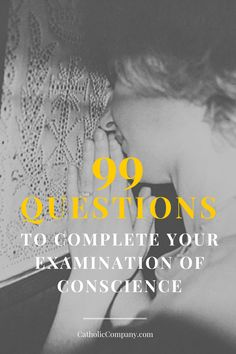 99 Questions Examination of Conscience Guide