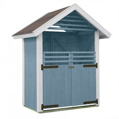 Tuotetta myy: Garbage Can Shed, Little Houses, Outdoor Structures, Sheds, Cozy, Garden, Shed Houses, Tiny Houses, Garten
