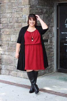 Plus Size Clothing for Women - Jessica Kane Plus Size Grecian Sleeveless Dress…