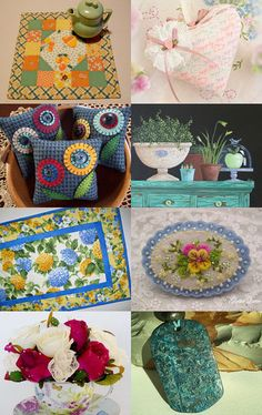 Pretty Handmades for March by arcadecache on Etsy--Pinned with TreasuryPin.com