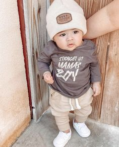 Cute Baby Boy Outfits, Cute Outfits For Kids, Cute Baby Girl, Mom And Baby, Cute Babies, Little Boy Fashion, Baby Boy Fashion, Toddler Fashion, Kids Fashion