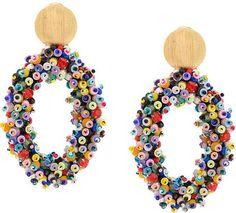 Timeless Elegance, Carolina Herrera, Luxury Branding, Style Icons, Hoop Earrings, Jewels, Gold, Necklaces, Inspirational Jewelry