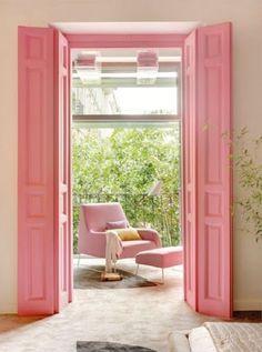 Que tal porta colorida?