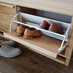 NewEst Shoe Storage Bench - Oak
