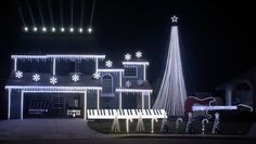 """Editor's Note: This is the full 7-minute version of Tom BetGeorge's home light show. BetGeorge's display is one of the biggest in the country, with a new theme each year. This year it's """"Harry Potter."""" Featuring tens of thousands of lights and at least 500 hours of manpower, this show is no magic trick. Join us for a rare behind-the-scenes look at this mind-blowing display that's sure to leave you saying, """"Lumos Maxima!"""""""