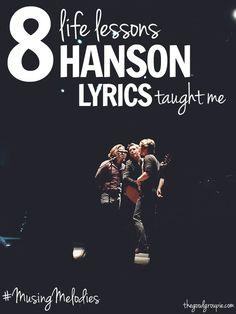 #MusingMelodies: 8 life lessons Hanson lyrics taught me