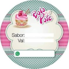 Cupcake Art, Cupcake Toppers, Logo Doce, Cake Icon, Candy Logo, Pin Up Drawings, Family Cake, Cake Illustration, Bakery Logo Design