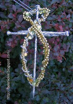 Belsnickle Blogspot : Craft The Three Nails and A Fish Chrismon