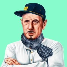 What Famous Historical Leaders Would Look Like as Hipsters | Mental Floss