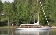I could be very content with a classic Fife yacht like this one...
