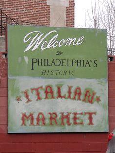 The Italian Market  - Philadelphia