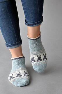 Ravelry: Bunny Got Back Socks pattern by Amy Gunderson