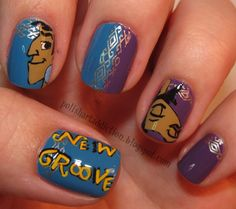 Character Nails #06 - Emperor's New Groove