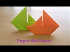 How to make a paper Sail Boat Origami that Floats on Water - Sail Boat O... https://www.youtube.com/attribution_link?a=M6aFEw0BCbo&u=%2Fwatch%3Fv%3DvBcpF_PximE%26feature%3Dshare . how to make your own #crafts follow @cutephonecases
