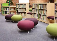 Washington Elementary School - DEMCO Library Interiors