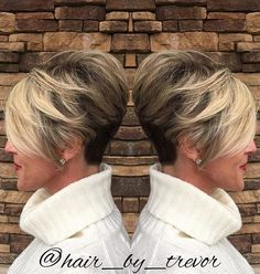 Today we have the most stylish 86 Cute Short Pixie Haircuts. We claim that you have never seen such elegant and eye-catching short hairstyles before. Pixie haircut, of course, offers a lot of options for the hair of the ladies'… Continue Reading → Short Hairstyles For Thick Hair, Short Pixie Haircuts, Short Hair Cuts, Easy Hairstyles, Short Hair Styles, Gorgeous Hairstyles, Choppy Haircuts, Updo Hairstyle, Short Stacked Haircuts