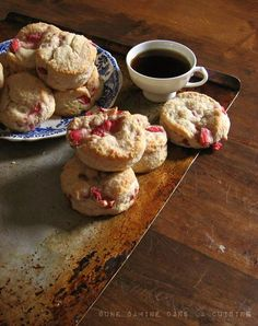 Strawberries & Cream Biscuits. If you can't find fresh strawberries, feel free to use whatever fruits are available. These biscuits acquire their fluff and dreamy texture from a cup of heavy cream- I'm sure they'll comply, happily, with anything from blueberries, to apples, to cherries.