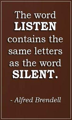#listen #silent