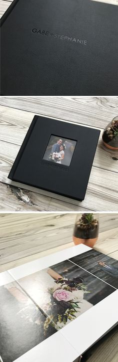 Wedding Photography Inspiration : Hand bound wedding albums made with LOVE from Albums Remembered! These books wil Custom Photo Books, Custom Photo Albums, Personalized Photo Albums, Personalized Gifts, Wedding Album Layout, Wedding Album Design, Wedding Photo Albums, Wedding Photo Books, Wedding Photos