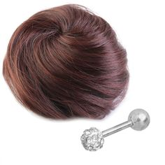 PiercingJ New Clip in Ponytail Bun Scrunchie Drawstring Hair Extension Synthetic Hairpi... * This is an Amazon Affiliate link. You can find more details by visiting the image link.
