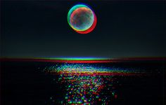 Sunset , in 3D