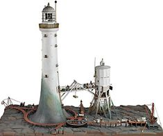 Bell Rock Lighthouse, copyright The Trustees of the National Museum of Scotland