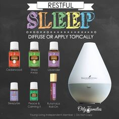 Use Young Living Essential Oils to help your kids get the restful sleep they need!