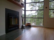 Accessable be dammed! We really like the clean line and look that the flush hearth gives the room. Hearth, Stove, Wood, Building, Modern, Home Decor, Cozy Nook, Cooking Stove, Madeira