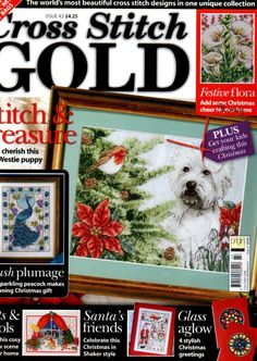 Cross Stitch Gold. Christmas Issue 43. Full Magazine. Follow Link For Downloads.