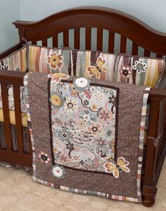 Baby's Own Room - Penny Lane 4 Piece Crib Bedding by Cotton Tale Designs, $178.99 (http://www.babysownroom.com/penny-lane-4-piece-crib-bedding-by-cotton-tale-designs/)