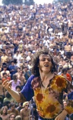 """Joe Cocker. What a performance 'With A Little Help From My Friends"""" (Woodstock). Joe  was paid $1,375."""