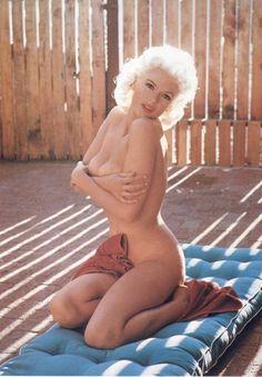 Jayne Mansfield as Playboy's Miss February 1955