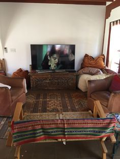 The Retreat: Sponsor Amazon offered a theater room within the Korakia Pensione to show its programming in a relaxed environment, as guests might watch it in their homes.