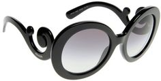 Prada 27NS 1AB3M1 Black 27NS gd FR Sunglasses Lens Category 2