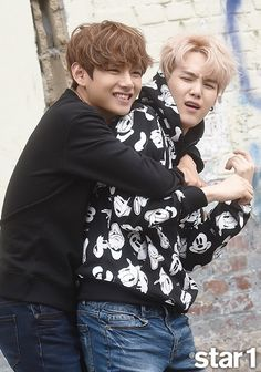 BTS star 1 (V and Suga)