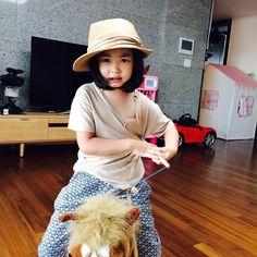 """Lee Haru: """" appa's hat"""" Korean Wave, Korean Star, Kang Hye Jung, Lee Haru, Alternative Hip Hop, Superman Kids, Stories For Kids, Cute Kids, Kdrama"""