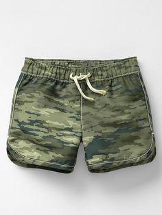 Camo swim trunks Product Image