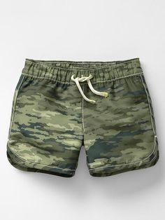 Camo swim trunks Product Image