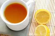 Turmeric, Ginger and Lemon Tonic Tea - This tea will awaken your digestive fire. Digestive fire refers to the overall health and activity of your digestive system.