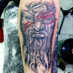 Vikingo realista by yaerom #tat #tatuajes #tattoos #tattoo #tatuadoresvenezolanos #westtattoo citas disponible al 04241823186 @yaerom #ink #inkedmag #blacktattoo #blackandgrey #intenzepride #dynamic #superblack #designer #realistictattoo #realismo #caracastattoo #venezuela #vikings #viking #vikingos #tatuador